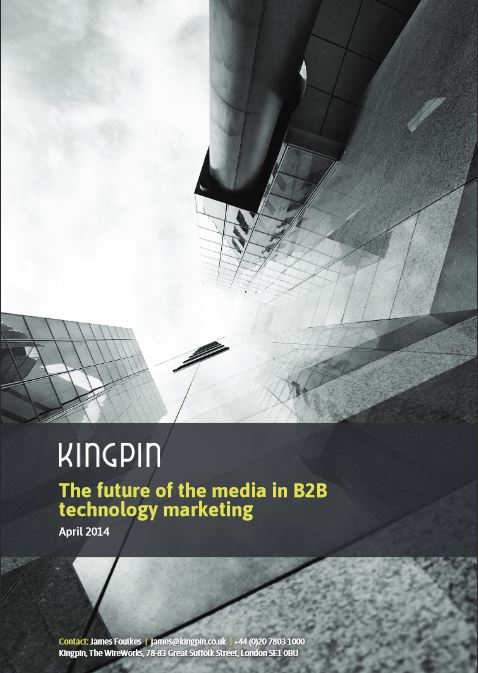The Future of the Media in B2B Technology Marketing