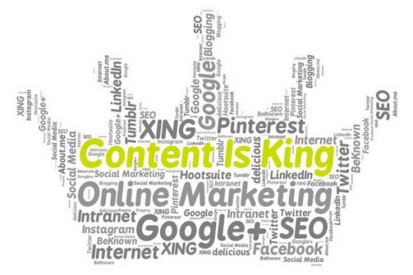 Content is King…