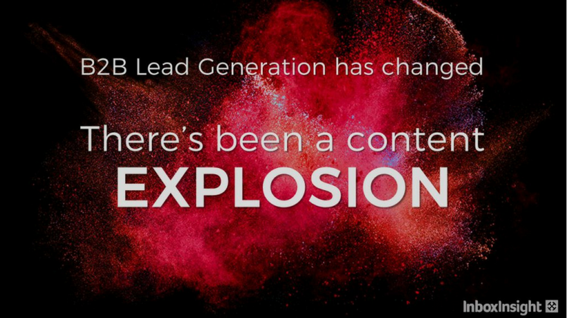 Surviving the Content Explosion in B2B Marketing
