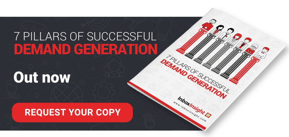 7 pillars of b2b demand generation