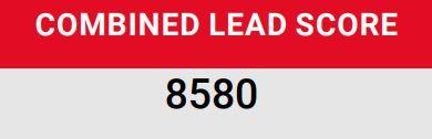Combined Lead Score