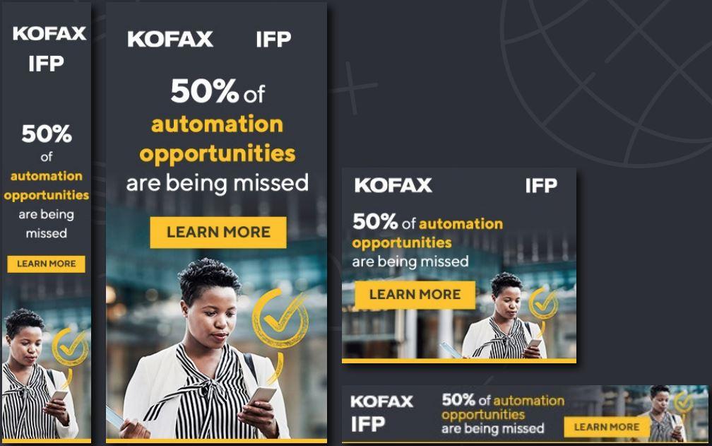 Kofax Banners
