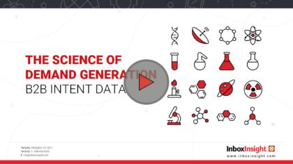 The Science of Demand Generation B2B Intent Data