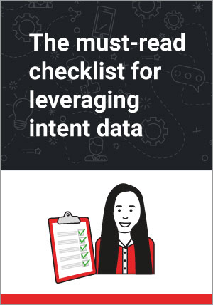 Intent Data Utilization Checklist