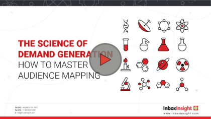 Science of Demand Generation How to Master Audience Mapping