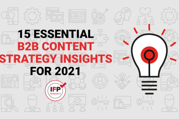 [Infographic] 15 Essential Content Strategy Insights for 2021
