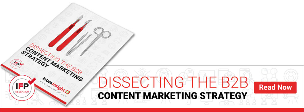 Dissecting the B2B Content Marketing Strategy