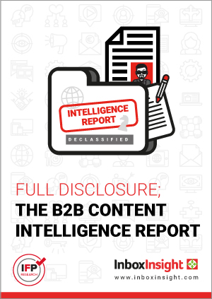 Full Disclosure; The B2B Content Intelligence Report