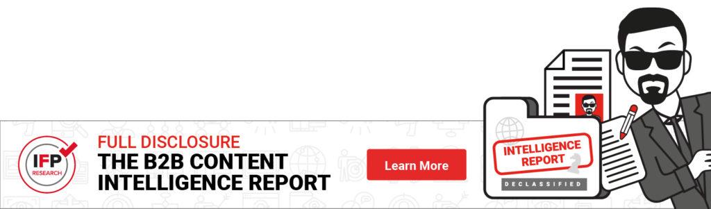 B2B marketing report on Content Intelligence