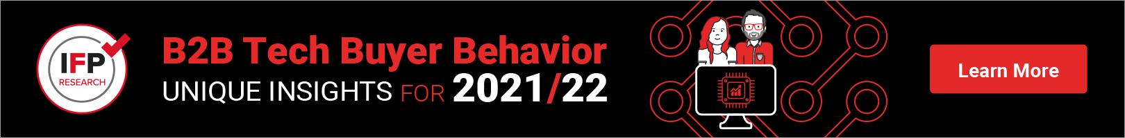B2B Tech Buyer Behavior WP banner
